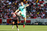 Shane Duffy of Brighton & Hove Albion in action during Brentford vs Brighton & Hove Albion, Premier League Football at the Brentford Community Stadium on 11th September 2021