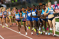 Viktoriya Kushnir Belarus 5000m Women <br /> Roma 08-06-2017 Stadio Olimpico <br /> Iaaf Diamond League Golden Gala <br /> Meeting Atletica Leggera - Track and Fields <br /> Foto Andrea Staccioli / Insidefoto