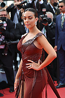 CANNES, FRANCE. July 15, 2021: Georgina Rodriguez at the France premiere at the 74th Festival de Cannes.<br /> Picture: Paul Smith / Featureflash