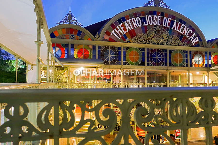 Theatro Jose de Alencar, Fortaleza, Ceara. 2018. Foto de Juca Martins
