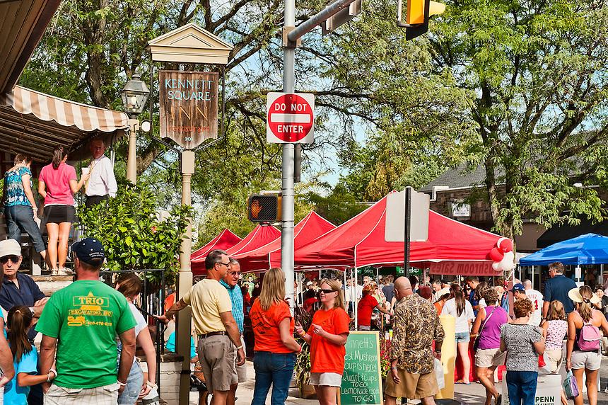 Kennett Square Mushroom festival, Kennett Square, PA, Pennsylvania, USA