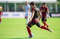 LAKE BUENA VISTA, FL - JULY 16: Fernando Meza #6 of Atlanta United kicks the ball during a game between FC Cincinnati and Atlanta United FC at Wide World of Sports on July 16, 2020 in Lake Buena Vista, Florida.