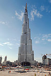 United Arab Emirates, Dubai: Construction of the Burj Dubai (tallest building in the world)