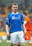 St Johnstone v Dundee Utd....21.04.12   SPL.Derek Riordan.Picture by Graeme Hart..Copyright Perthshire Picture Agency.Tel: 01738 623350  Mobile: 07990 594431