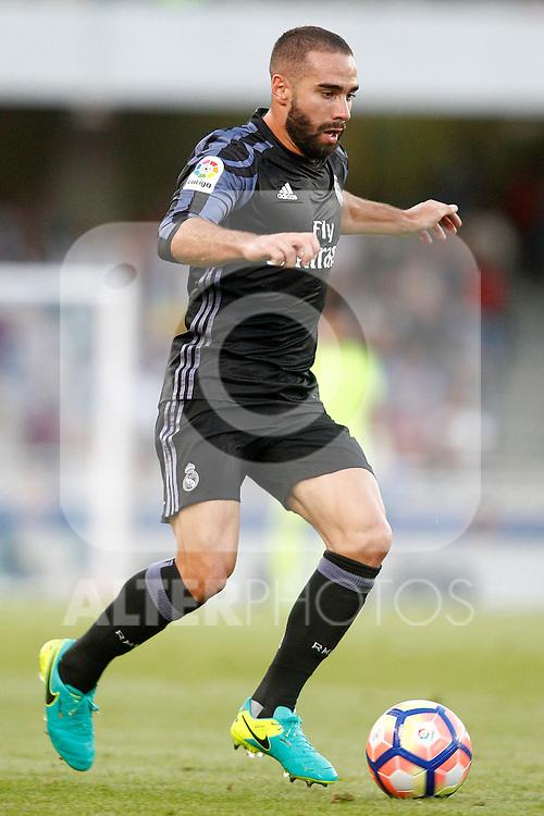 Real Madrid's Daniel Carvajal during La Liga match. August 21,2016. (ALTERPHOTOS/Acero)