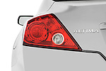 Tail light close up detail view of a 2008 Nissan Altma Coupe