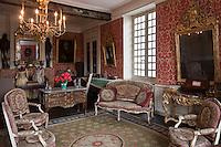 Europe/France/Aquitaine/64/Pyrénées-Atlantiques/Pays-Basque/Saint-Jean-de-Luz: Maison Louis XIV, Maison d'armateur  luzien du XVIIème.- Le Salon