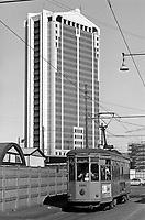 - Milano, grattacielo Garibaldi a Porta Nuova, Ottobre 1988 <br /> <br /> - Milan, Garibaldi skyscraper at Porta Nuova, October 1988