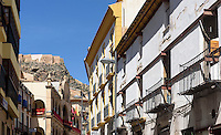 Altstadt und Burg  in Lorca,  Provinz Murcia, Spanien, Europa