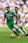 Ruben Perez of Deportivo Leganes in action during their La Liga match between Real Madrid and Deportivo Leganes at the Estadio Santiago Bernabéu on 06 November 2016 in Madrid, Spain. Photo by Diego Gonzalez Souto / Power Sport Images