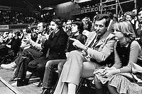 1978, ABN Tennis Toernooi, Vip tribune met Andre vd Louw
