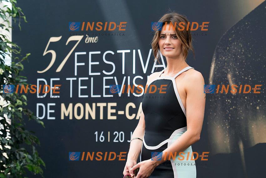 Stana Katic (Absentia) Monaco - 17/06/2017<br /> 57 festival TV Monte Carlo <br /> Foto Norbert Scanella / Panoramic / Insidefoto