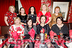 Enjoying the evening in Cassidys on Saturday.<br /> Seated l to r: Bridget O'Connor, Catherine Martin, Sarah O'Neill and Siobhan Griffin.<br /> Back l to r: Josephine Griffin, Nicola O'Sullivan, Martina Lawless, Fidelma Landers and Sheila Copper.