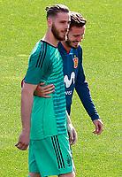 Spain's David De Gea (l) and Saul Niguez during training session. June 5,2018.(ALTERPHOTOS/Acero) /NortePhoto.com NORTEPHOTOMEXICO