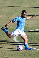 Amin Younes of SSC Napoli<br /> during the friendly football match between SSC Napoli and SS Teramo Calcio 1913 at stadio Patini in Castel di Sangro, Italy, September 04, 2020. <br /> Photo Cesare Purini / Insidefoto