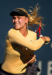 August 2, 2019: Donna Vekic (CRO) in action where she defeated Kristie Ahn (USA) 7-5, 6-0 in the quarterfinals of the Mubadala Silicon Valley Classic at San Jose State in San Jose, California. ©Mal Taam/TennisClix/CSM
