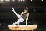 British Gymnastics Championships 2017<br /> The Liverpool Echo Arena<br /> Harri Morgan Barry YMCA Gym Club<br /> 25.03.17<br /> ©Steve Pope - Sportingwales