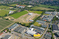 Gewerbestrasse:EUROPA, DEUTSCHLAND, SCHLESWIG- HOLSTEIN, OSTSTEINBEK 09.06.2005: Gewerbegebiet, Erweiterung des Gewerbegebiet, Oststeinbek, Luftbild,  Luftansicht, Luftaufnahme