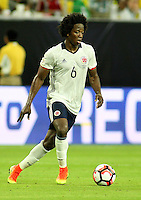 HOUSTON - UNITED STATES, 11-06-2016: Carlos Sanchez jugador de Colombia en acción durante partido del grupo A, fecha 3, entre Colombia (COL) y Costa Rica (CRC)  por la Copa América Centenario USA 2016 jugado en el estadio NRG en Houston, Texas, USA. /  Carlos Sanchez player of Colombia in action during match of the group A  between Colombia (COL) and Costa Rica (CRC) for the date 3 of the Copa América Centenario USA 2016 played at NRG stadium in Houston, Texas ,USA. Photo: VizzorImage/ Luis Alvarez /Str