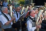 Germany, Baden-Wuerttemberg, Markgraefler Land, Heitersheim, village festival