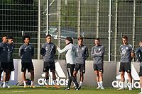 Bundestrainer Joachim Loew (Deutschland Germany) bei der Mannschaftsansprache - 31.08.2020: Erstes Training der Deutschen Nationalmannschaft vor dem Nations League gegen Spanien, ADM Sportpark Stuttgart