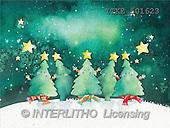Isabella, CHRISTMAS SYMBOLS, corporate, paintings, trees, stars(ITKE501623,#XX#) Symbole, Weihnachten, Geschäft, símbolos, Navidad, corporativos, illustrations, pinturas