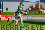 Dougie Fitzell, Kilmoyley during the Kerry County Senior Hurling Championship Final match between Kilmoyley and Causeway at Austin Stack Park in Tralee