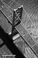 aerial photograph of the San Francisco Oakland Bay Bridge