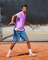 08-08-13, Netherlands, Rotterdam,  TV Victoria, Tennis, NJK 2013, National Junior Tennis Championships 2013,  Fabian van der Lans   <br /> <br /> <br /> Photo: Henk Koster