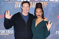 """Jason Isaacs and Sonequa Martin-Green<br /> at the """"Star Trek Discovery"""" photocall, Millbank Tower,  London<br /> <br /> <br /> ©Ash Knotek  D3347  05/11/2017"""