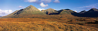 .The Red Hills (Lord MacDonald's Forest), main peak - Glamaig, Isle of Skye, western Scotland...