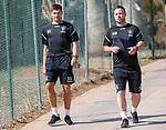 18.06.18  Steven Gerrard and Michael Beale