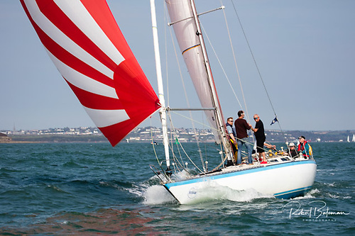 Ian Hickey's Cavatina, a Granada 38, is racing in Spinnaker Two division
