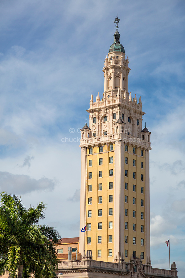 "Miami, Florida.  Freedom Tower, the Cuban ""Ellis Island."""