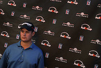 Feb 4, 2007; Scottsdale, AZ, USA; Jeff Quinney after the final round of the FBR Open at the TPC Scottsdale in Scottsdale, Arizona. Mandatory Credit: Mark J. Rebilas-US Presswire Copyright Mark J. Rebilas