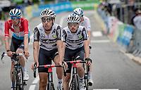 Fabio Aru (ITA/Qhubeka ASSOS) crossing the finish line<br /> <br /> 73rd Critérium du Dauphiné 2021 (2.UWT)<br /> Stage 8 (Final) from La Léchère-Les-Bains to Les Gets (147km)<br /> <br /> ©kramon