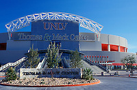 stadium, University of Nevada, Las Vegas, UNLV, Nevada, NV, Thomas & Mack Sports Center on the campus of the University of Nevada, Las Vegas in Las Vegas.