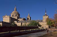 Spanien, Monasterio de San Lorenzo de El Escorial bei Madrid, erbaut 1563-1584 durch Felipe II, Unesco-Weltkulturerbe