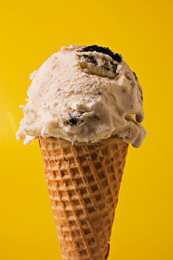 Single scoop ice cream cone
