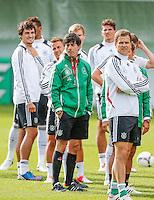 GDANSK, POLONIA, 25 JUNHO 2012 - EURO 2012 - TREINO ALEMANHA - O tecnico da seleção alema Joachim Low durante treino preparatorio da equipe nesta segunda-feira, 25. A Alemanha enfrenta a Italia pelas semi-finais da Euro no Estadio Nacional de Varsovia no proximo dia 28. (FOTO: PIXATHLON / BRAZIL PHOTO PRESS).