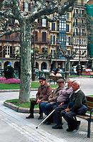 Plaza del Castillo, Pamplona, Navarra , Spanien,