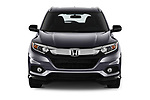 Car photography straight front view of a 2019 Honda HR-V Sport 5 Door SUV