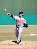 Josh Tomlin / Surprise Rafters 2008 Arizona Fall League..Photo by:  Bill Mitchell/Four Seam Images