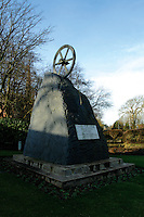 The Miners Monument, commemorating the Blantyre Mining Disaster of 1877, Blantyre, South Lanarkshire<br /> <br /> Copyright www.scottishhorizons.co.uk/Keith Fergus 2011 All Rights Reserved