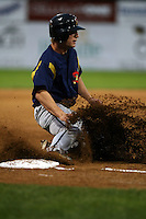 September 7 2008:  Butch Biela of the State College Spikes, Class-A affiliate of the Pittsburgh Pirates, during a game at Dwyer Stadium in Batavia, NY.  Photo by:  Mike Janes/Four Seam Images