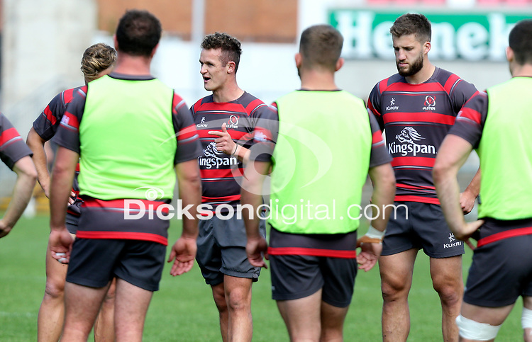 Friday 4th September 2020 | Ulster Captain's Run<br /> <br /> Billy Burns during Captain's Run ahead of the Guinness PRO14 Semi-Final between Edinburgh and Ulster at the BT Murrayfield Stadium Edinburgh, Scotland. Photo by John Dickson / Dicksondigital
