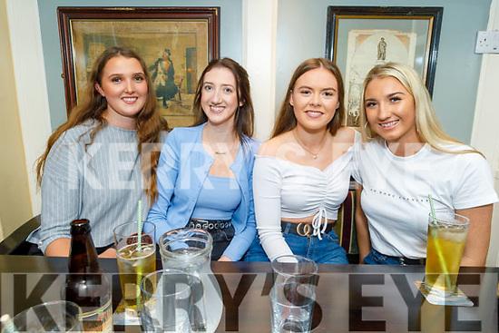 Elenor Davoren, Michelle Cullen, Ciara Moloney and Sarah O'Keeffe enjoying the evening in the Brogue Inn on Thursday.