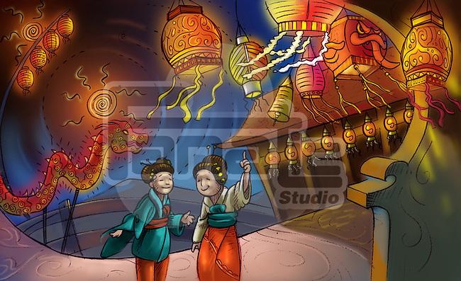 Chinese Lantern Festival celebration