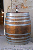 Domaine Bertrand-Berge In Paziols. Fitou. Languedoc. France. Europe. Bottle.