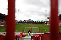 10th October 2020; The County Ground, Swindon, Wiltshire, England; English Football League One; Swindon Town v AFC Wimbledon played behind closed door without fans due to the Coronavirus